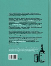 Verso de Blake et Mortimer (Divers) - Les cocktails de Blake et Mortimer