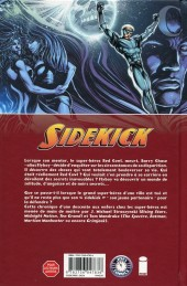 Verso de Sidekick -1- Descente aux Enfers