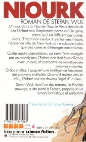Verso de (AUT) De La Fuente, Victor - Niourk