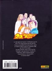 Verso de 20th Century Boys -5- Tome 5