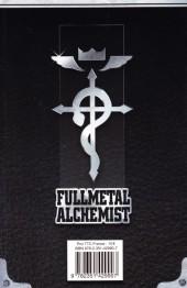 Verso de FullMetal Alchemist -INT11- Volume XI - Tomes 22-23