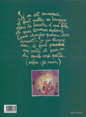 Verso de Titeuf -2- L'Amour, c'est pô propre...