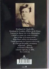 Verso de (AUT) Pratt, Hugo - Rimbaud l'heure de la fuite