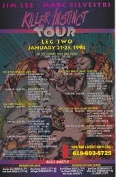 Verso de Cyberforce (Image Comics - 1993) -2- Killer instinct: chapter two