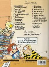 Verso de L'Élève Ducobu -13Spe- Pas vu, pas pris !