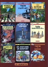 Verso de Tintin - Pastiches, parodies & pirates - Destination Hollywood