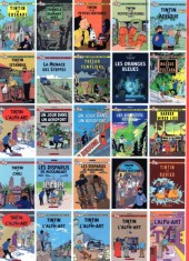 Verso de Tintin - Pastiches, parodies & pirates - Tintin en Afrique