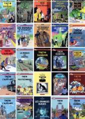 Verso de Tintin - Pastiches, parodies & pirates - les disparus de Moulinsart