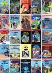 Verso de Tintin - Pastiches, parodies & pirates - le triangle du diamant vert