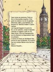 Verso de Tintin - Divers - Sherlock et Tintin