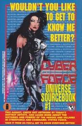 Verso de Cyberforce (Image Comics - 1993) -5- Assault with a deadly woman, part 2
