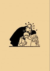 Verso de (AUT) Hergé - Un éclairage sur les gags de Quick et Flupke