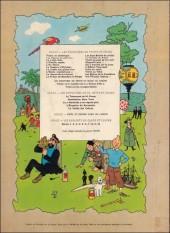 Verso de Tintin (Historique) -7B38- L'ile noire