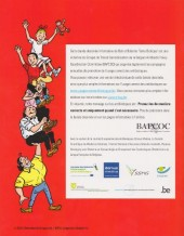 Verso de Bob et Bobette (Publicitaire) -Bapcoc- Tante biotique