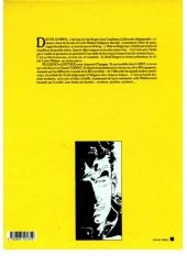 Verso de Dieter Lumpen (Les Aventures de) -1- Le Poignard d'Istamboul