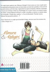Verso de Mimura & Katagiri - Tome 1