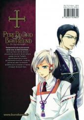 Verso de Pure Blood Boyfriend - He's my only vampire -6- Tome 6