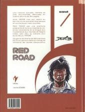 Verso de Celui qui est né deux fois / Red road -4- American Buffalos
