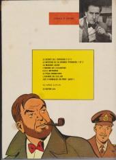 Verso de Blake et Mortimer (Les aventures de) (Historique) -6g1977- L'Énigme de l'Atlantide