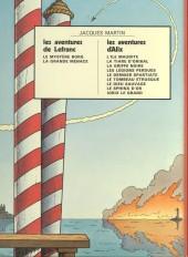 Verso de Lefranc -3a1972- Le mystère Borg