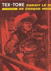 Verso de Tex-Tone -452- La souricière