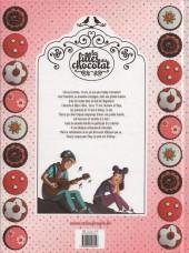 Verso de Les filles au chocolat -1- Cœur cerise