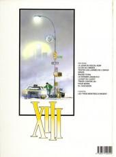 Verso de XIII -6a1994- Le dossier Jason Fly