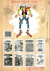 Verso de Lucky Luke -13b1984- Le juge