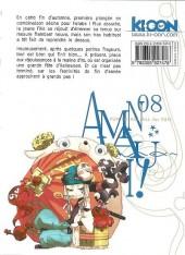 Verso de Amanchu ! -8- Tome 8
