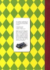 Verso de Michel Vaillant -HS2TL- Pré-grille