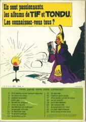 Verso de Tif et Tondu -13a76- Le Grand Combat