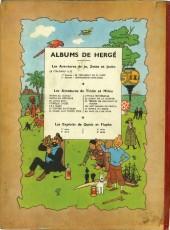 Verso de Tintin (Historique) -9B05- Le crabe aux pinces d'or