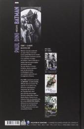 Verso de Batman (Paul Dini présente) -1- La mort en cette cité