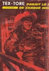 Verso de Tex-Tone -426- L'U.S. marshall