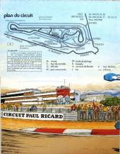 Verso de Michel Vaillant -02Pub- Le héros du Paul Ricard