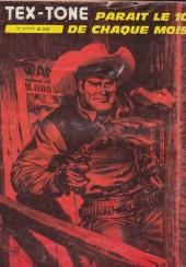 Verso de Tex-Tone -420- La cible