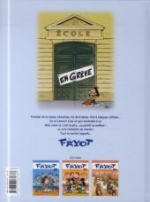 Verso de Le fayot -3- Vive la rentrée!