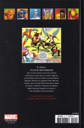 Verso de Marvel Comics - La collection (Hachette) -244- X-Men - Futur Antérieur
