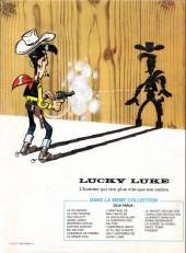 Verso de Lucky Luke -33d83'- Le Pied-Tendre