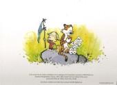 Verso de Calvin et Hobbes -Cat- À la recherche de Calvin et Hobbes - Catalogue de l'exposition