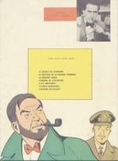 Verso de Blake et Mortimer (Historique) -1b67- Le Secret de l'Espadon - Tome I - La Poursuite fantastique