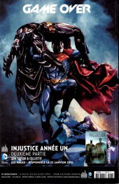 Verso de Superman Saga -13- Doomed : Le retour de Doomsday !