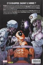 Verso de Deadpool (Marvel Deluxe) -1- Une affaire épouvantable
