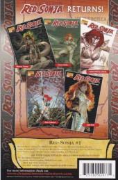 Verso de Red Sonja (2005) -0- Red sonja