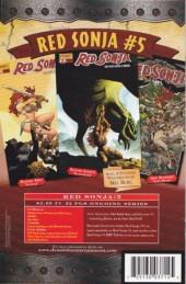 Verso de Red Sonja (2005) -4- Tide turns