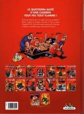 Verso de Les pompiers -8a- La ligue des sapeurs-héros