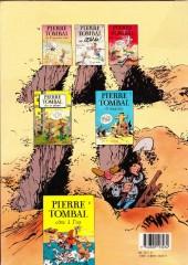 Verso de Pierre Tombal -1b1989- Les 44 premiers trous