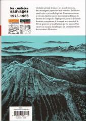 Verso de Les contrées sauvages -2- Vol. 2 :1975-1986