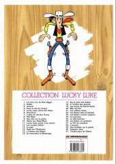 Verso de Lucky Luke -22Ind- Les Dalton dans le blizzard