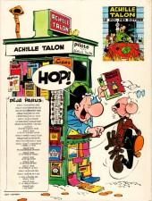 Verso de Achille Talon -11a83- Brave et honnête Achille Talon